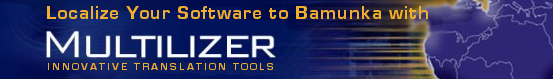 Localize your software to Bamunka with Multilizer Localization Tools