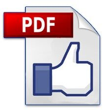 How to Publish a PDF File on Facebook Timeline?