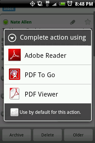 Android Mobile Pdf Reader App