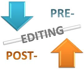 Pre-Editing Decreases the Need of Post-Editing