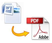 How to create a PDF file from Word
