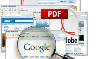 make pdf file searchable
