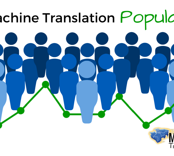 Is Machine Translation Popular?