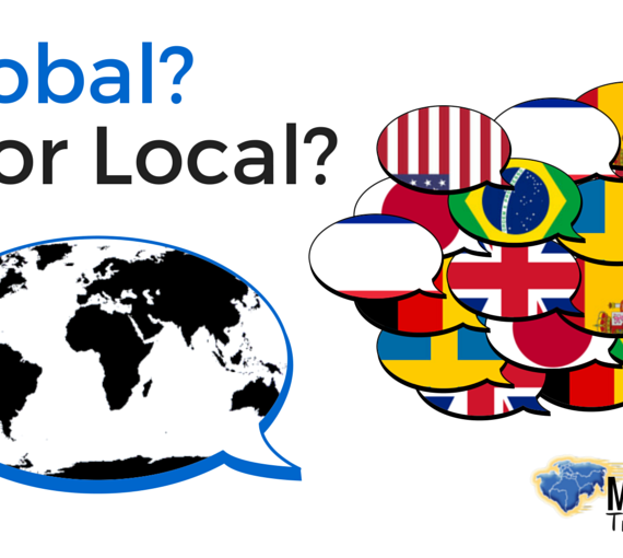 Global Or Local?